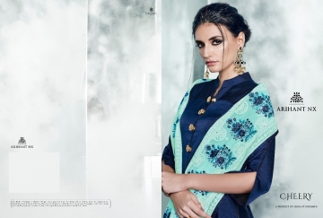 ARIHANT NX LATEST CHERRY FULL STITCHED PARTY WEAR GOWNS WHOLESALE PRICE (16) JPG