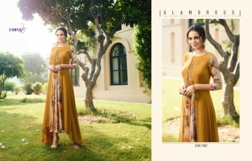 FIONISTA JULIA GEORGETTE PARTY WEAR LONG KURTIS WHOLESALE PRICE(3)JPG