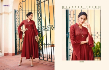 FIONISTA JULIA GEORGETTE PARTY WEAR LONG KURTIS WHOLESALE PRICE(8)JPG