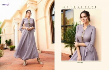 FIONISTA JULIA GEORGETTE PARTY WEAR LONG KURTIS WHOLESALE PRICE(10)JPG