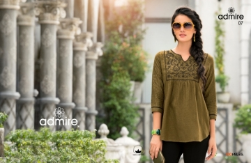 100 MILES ADMIRE-VOL 2 COTTON EMBROIDERED TUNIC WHOLESALE PRICE(01)JPG