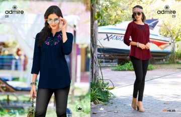 100 MILES ADMIRE-VOL 2 COTTON EMBROIDERED TUNIC WHOLESALE PRICE(2)JPG