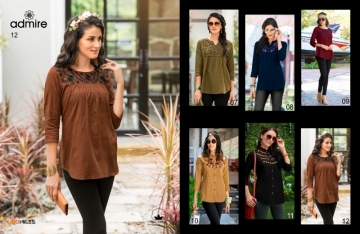 100 MILES ADMIRE-VOL 2 COTTON EMBROIDERED TUNIC WHOLESALE PRICE(5)JPG