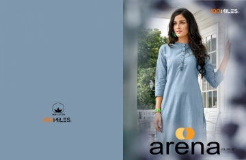 100 MILES ARENA VOL-02 COTTON LINEN KURTIS WHOLESALE PRICE(01)JPG