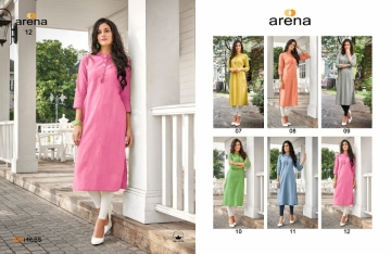 100 MILES ARENA VOL-02 COTTON LINEN KURTIS WHOLESALE PRICE(2)JPG