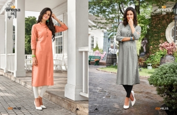 100 MILES ARENA VOL-02 COTTON LINEN KURTIS WHOLESALE PRICE(3)JPG