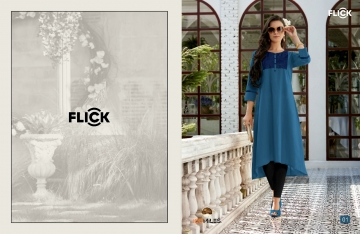 100 MILES FLICK COTTON EMBROIDERED FLARE KURTI WHOLESALE SUPPLIER (6) JPG