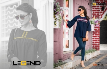 100 MILES LEGEND FANCY MID-LENGTH EMBROIDERED TOPS WHOLESALE PRICE(01) JPG