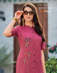 100 MILES MYSTERY COTTON TOPS KURTI WHOLESALE SUPPLER JPG
