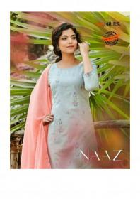 100-MILES-PRESENTS-NAAZ-COTTON-READYMADE-EMBROIDERY-KURTI-WITH-PANT-AND-DUPATTA-WHOLESALER-1