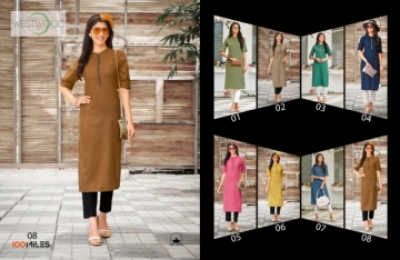 100 MILES PRESENTS WESTWOOD COTTON DESIGNER LONG KURTIS WHOLESALE PRICE (01)