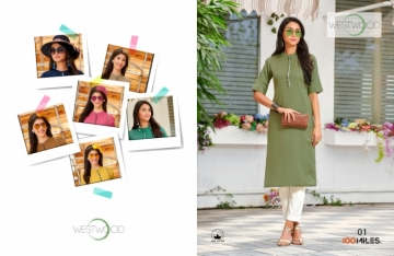 100 MILES PRESENTS WESTWOOD COTTON DESIGNER LONG KURTIS WHOLESALE PRICE (2)