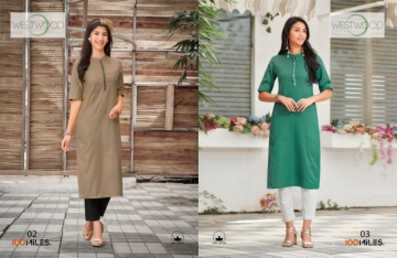 100 MILES PRESENTS WESTWOOD COTTON DESIGNER LONG KURTIS WHOLESALE PRICE (3)