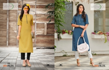 100 MILES PRESENTS WESTWOOD COTTON DESIGNER LONG KURTIS WHOLESALE PRICE (5)