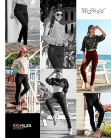 100 MILES TREGGINGS STRETCHABLE BOTTOMS LEGGINGS WHOLESALE PRICE (1) JPG