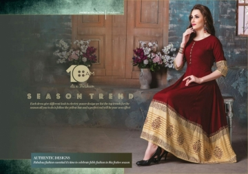 10AM AARZOO RAYON ANARKALI UMBRELLA KURTIS WHOLESALE PRICE (11)jpg