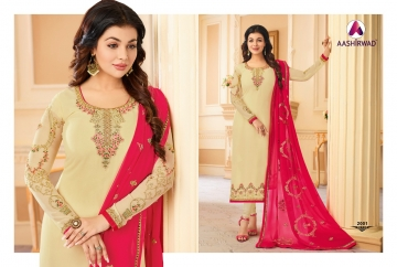 AASHIRWAD CREATION JASHN GEORGETTE SALWAR SUITS WHOLESALE PRICE (2) JPG
