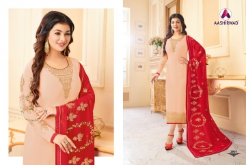 AASHIRWAD CREATION JASHN GEORGETTE SALWAR SUITS WHOLESALE PRICE (8) JPG