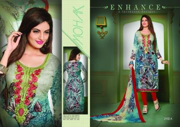 AASHIRWAD CREATION PAKISATANI EMBROIDERED SUITS CATALOG WHOLESALE SUPPLIER SURAT (1) JPG