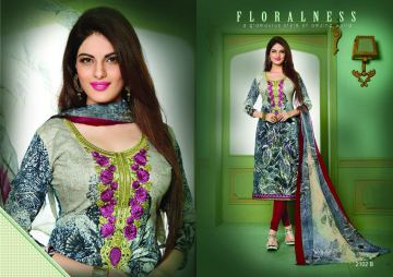 AASHIRWAD CREATION PAKISATANI EMBROIDERED SUITS CATALOG WHOLESALE SUPPLIER SURAT (4) JPG