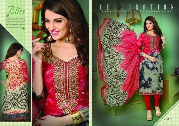 AASHIRWAD CREATION PAKISATANI EMBROIDERED SUITS CATALOG WHOLESALE SUPPLIER SURAT (7) JPG