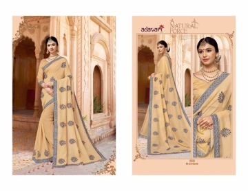 ADAVARI PRESENTS TERE NAINA MURBLE CHIFFON PARTY WEAR SAREES (3)JPG