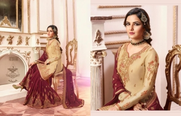 AMIRAH SHARARA VOL-02 SATIN GEORGETTE HEAVY EMBRODERY WORK SUITS WHOLESALE PRICE(10)JPG
