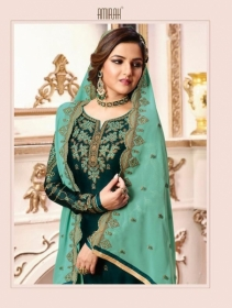 AMIRAH SHARARA VOL-02 SATIN GEORGETTE HEAVY EMBRODERY WORK SUITS WHOLESALE PRICE(11)JPG