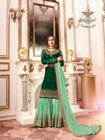 AMIRAH SHARARA VOL-02 SATIN GEORGETTE HEAVY EMBRODERY WORK SUITS WHOLESALE PRICE(13)JPG