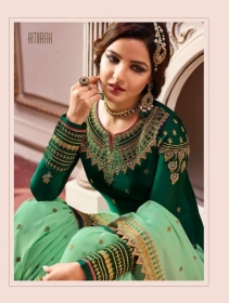 AMIRAH SHARARA VOL-02 SATIN GEORGETTE HEAVY EMBRODERY WORK SUITS WHOLESALE PRICE(14)JPG