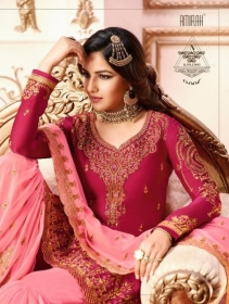AMIRAH SHARARA VOL-02 SATIN GEORGETTE HEAVY EMBRODERY WORK SUITS WHOLESALE PRICE(3)JPG