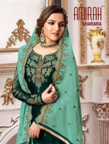 AMIRAH SHARARA VOL-02 SATIN GEORGETTE HEAVY EMBRODERY WORK SUITS WHOLESALE PRICE(4)JPG