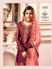 AMIRAH SHARARA VOL-02 SATIN GEORGETTE HEAVY EMBRODERY WORK SUITS WHOLESALE PRICE(5)JPG