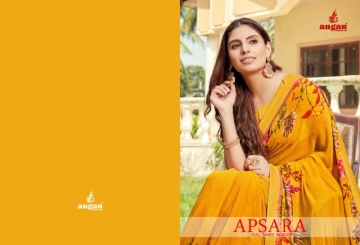 ANGAN PRESENTS APSARA GEORGETTE PRINTED SAREES (01) JPG