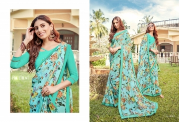 ANGAN PRESENTS APSARA GEORGETTE PRINTED SAREES (6) JPG