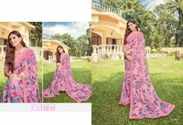 ANGAN PRESENTS APSARA GEORGETTE PRINTED SAREES (7) JPG