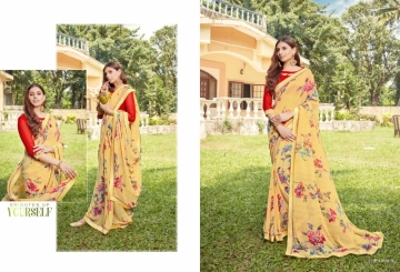 ANGAN PRESENTS APSARA GEORGETTE PRINTED SAREES (9) JPG