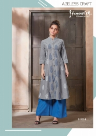 FEMINISTA HASHTAG VOL 2 RAYON KURTIS WITH PALAZZO PANTS WHOLESALE PRICE(10)JPG