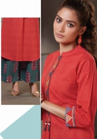 FEMINISTA HASHTAG VOL 2 RAYON KURTIS WITH PALAZZO PANTS WHOLESALE PRICE(5)JPG