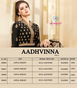ARIHANT AADHVINNA VOL 2 ANARKALI SUITS WHOLESALE SUPPLIER (11) JPG
