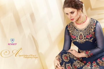 ARIHANT AADHVINNA VOL 2 ANARKALI SUITS WHOLESALE SUPPLIER (2) JPG