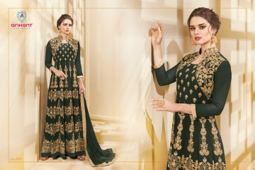 ARIHANT AADHVINNA VOL 2 ANARKALI SUITS WHOLESALE SUPPLIER (3) JPG