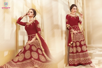 ARIHANT AADHVINNA VOL 2 ANARKALI SUITS WHOLESALE SUPPLIER (4) JPG