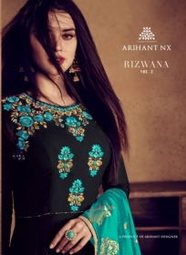 ARIHANT NX RIZWANA VOL 2 HEAVY RAYON EMBROIDERED GOWN  WHOLESALE PRICE (10) JPG