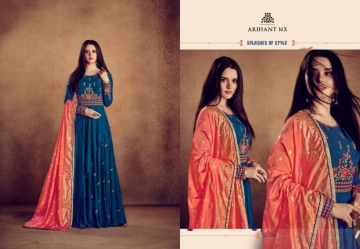 ARIHANT NX RIZWANA VOL 2 HEAVY RAYON EMBROIDERED GOWN  WHOLESALE PRICE (14) JPG