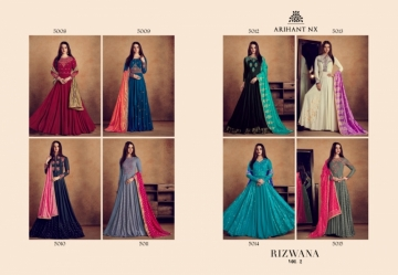 ARIHANT NX RIZWANA VOL 2 HEAVY RAYON EMBROIDERED GOWN  WHOLESALE PRICE (7) JPG