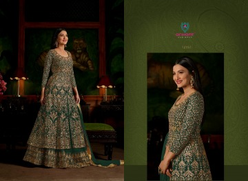 ARIHANT SASHI VOL 17 GEORGETTE HEAVY EMBROIDERY ANARKALI SALWAR KAMEEZ WHOLESALE PRICE (8) JPG