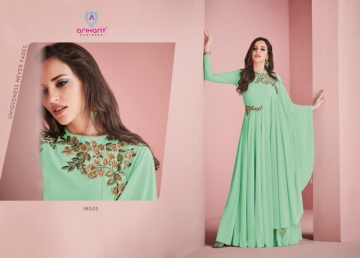 ARIHANT SUI DHAAGA FOX GEORGETTE WITH HEAVY EMBROIDERY ANARKALI KURTIS WHOLESALE PRICE (9)JPG