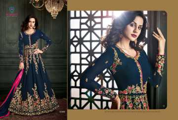 ARIHANT VIDHISHA GEORGETTE ANARKALI SUITS WHOLESALE PRICE (10) JPG