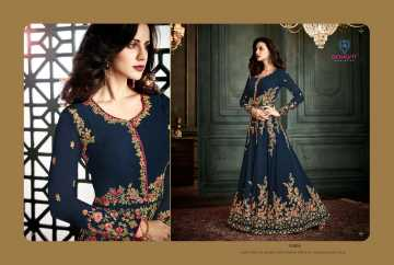 ARIHANT VIDHISHA GEORGETTE ANARKALI SUITS WHOLESALE PRICE (11) JPG
